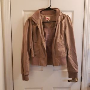 Forever 21 Tan Jacket Size Small
